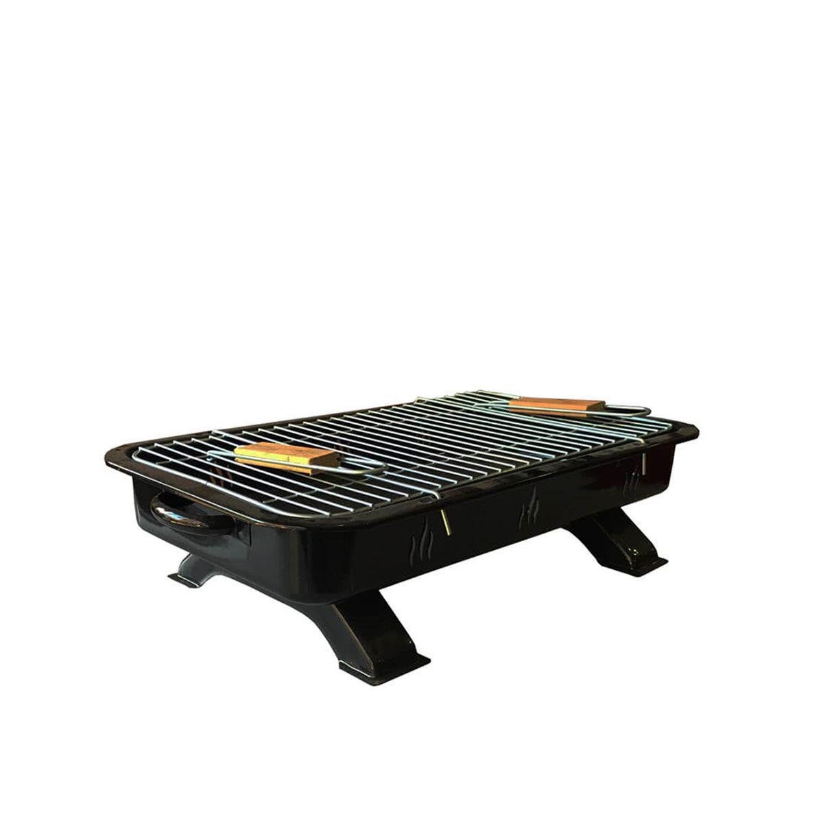 Aslan Ayaklı Siyah Mangal 50 cm