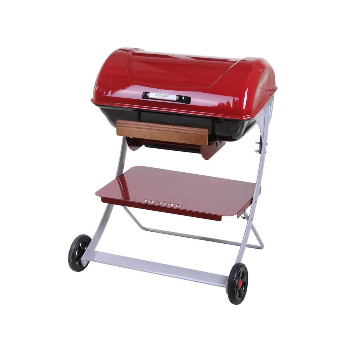 Tekerlekli Kırmızı Barbekü